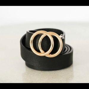"Mini Double ""O"" Ring Belt"